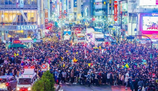 【画像&動画】ハロウィン2019渋谷の現在の混雑状況は?飲酒規制も注意!