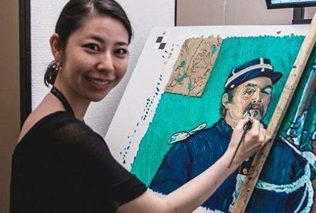 【画像】古賀陽子は超美人画家!経歴や大学は?個展開催予定も あいつ今